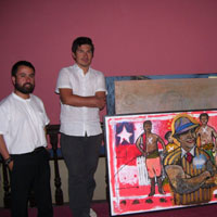 Christian Carrillo en Bienal Arte Norte